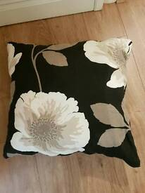 Next natural poppy large cushion
