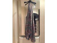 Kariza silky multiwear wrap dress - one size
