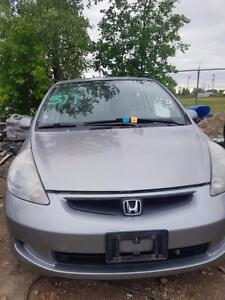Parting Out 2007 Honda Fit