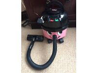 Children's pink hetty vac