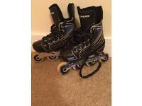 Inline adjustable skates