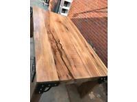 Bespoke welsh oak table