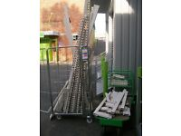Eden heavy-duty shop shelving - FOR PARTS - racking (not Dexion), metal shelves, display
