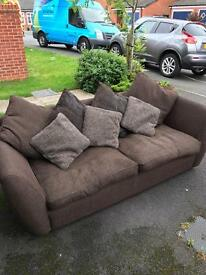 3 seater couch and single armchair