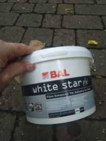 White Star Plus tile adhesive 5 litres central London bargain