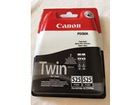 Canon Pixma Printer Ink - Twin pack - 525