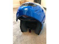 Motorbike helmet nitro flip front large