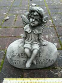 Cast Stoneware Garden Ornaments Fairy