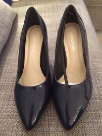 Navy shoes brand new still in box