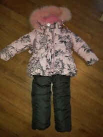 Winter jacket and trouser