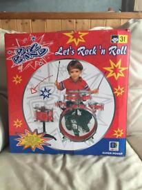Kids drum set (big band)