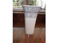 """A VASE BY WEDGWOOD INTERIORS EARTHENWARE 1999 12""""HIGH IN EXCELLENT CONDITION"""