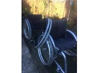 Wheelchairs x 2. Sports/ everyday.