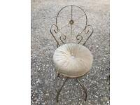 Two lovely vintage chair/stool