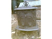 Ornate Woodburning Stove