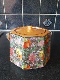 Celia Gibson 1920's Biscuit barrel