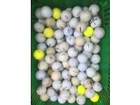 100 practice golf balls for sale.
