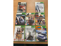 various x box games