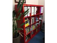 Bookshelves Red and black colour at good price