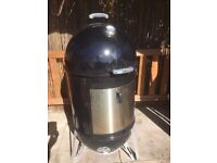 "Weber WSM 22"" & Pit Controller & Mods (used)"