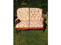 Small two seater sofa setee
