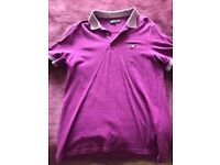 Selection of men's designer t-shirts
