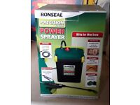 ronseal power sprayer new still in box