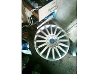 Five Ford Mondeo st 18 inch wheels