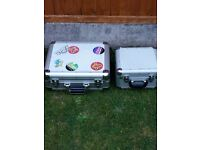 Flight cases x 2 Aluminium heavy duty