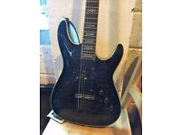 Electric guitar Schecter hellraiser diamond series