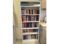 Argos HOME Maine Tall and Wide Extra Deep Bookcase - White