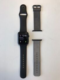Apple Watch series 2 with two straps