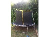 12 ft trampoline west moors collect only £35