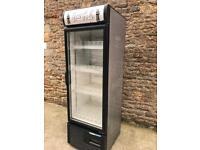 Fridge single door bottle display fridge