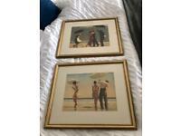 2 x Jack Vettriano framed prints