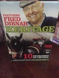 Fred Dibnah dvd set