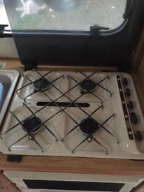 Hob, grill & oven set