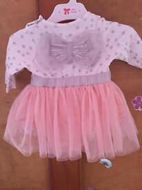 0-3 months mamas & papas dress