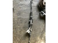 2010 MERCEDES C220 CDI STEERING RACK WORKING GOOD AND TESTED