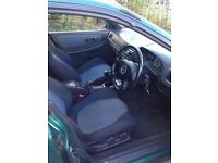 2001 Subaru Impreza estate, U.K. Turbo 2000, green, long mot