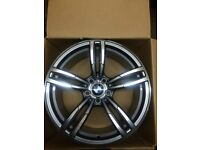 "BRAND NEW BMW 19"" M3 M4 TECH STYLE 437M M5 M6 ALLOY WHEELS- 3 5 series -E90 E92 E93 F10 F11"