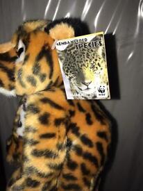 WWF jaguar teddies