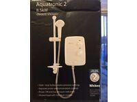 NEW Aquatronic Style II, 9.5kw electric shower.