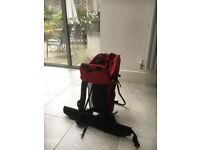Backpacker baby carrier