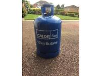 15kg calor butane gas almost full cylinder