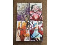 Pandora Hearts Manga: Volumes 18,19, 20 and 21.