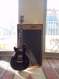 Vintage Hawk Twin 50 Amp With 2 x Fane Speakers