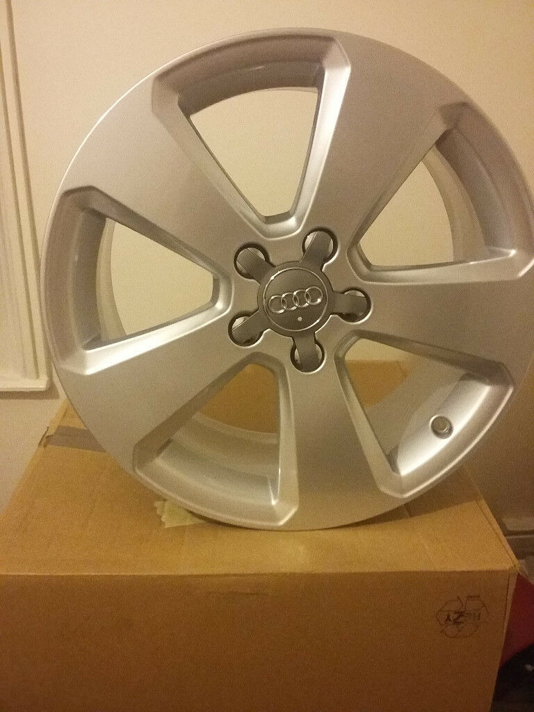"Audi alloys 17"" 5x112 they was on the car for about 1 week"