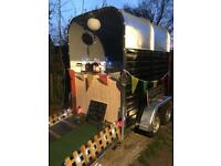 Classic vintage horse trailer conversion/catering trailer/coffee/weddings/bar/shop