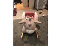 Nattuo unicorn rocking chair